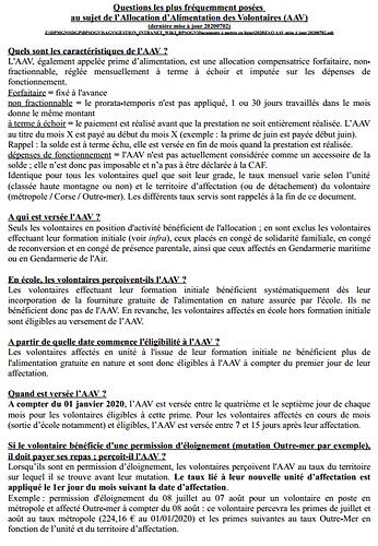 AAV - FAQ page 1